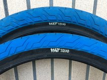 Rant Squad blue 20x2.35 BMX bike/bicycle tires in Okinawa, Japan