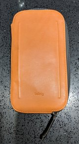 Bellroy All Conditions Leather Phone Cycling Pocket, Plus Size, Burnt Orange in Okinawa, Japan