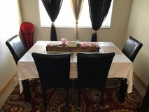 Dining Room Table and Chairs in Okinawa, Japan