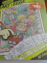 New 30pg Crayola Nick 90s Book in Ramstein, Germany