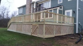 Decks Pergola fence tree in Plainfield, Illinois
