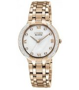 New  Ladies Citizen-Women Eco-Drive-Bella-Diamond-Accented-Watch in Aurora, Illinois