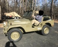 1954 Jeep Willys M38A1 in Quantico, Virginia