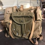 WWII Combat Pack with Shovel Carrier dated 1943! in Quantico, Virginia