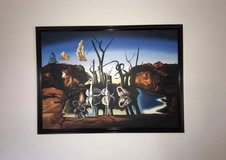 "Salvador Dali Replica Oil Painting. ""Swans Reflecting Elephants"" (1937) in Fort Knox, Kentucky"