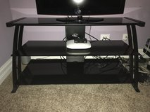 Glass TV Stand in Plainfield, Illinois