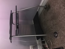 IKEA computer desk and chair in Naperville, Illinois