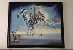 "Salvador Dali Replica Oil Painting. ""The Temptation of St. Anthony"" (1946) in Fort Knox, Kentucky"