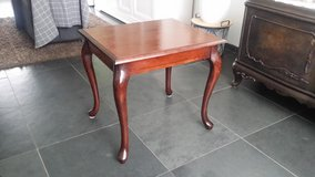 Colored Mahogany coffee table w/ 2 side tables in Ramstein, Germany