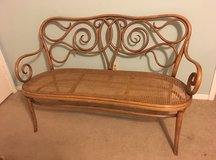 Antique Thonet Bentwood Bench in Kingwood, Texas