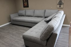 Gray Sectional Sofa in Tomball, Texas
