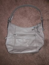 the Sak grey purse in Fort Knox, Kentucky