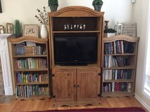TV armoire and 2 Book shelf's in Fort Rucker, Alabama