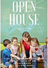 Preschool Open House Thur. April 19th 4-6pm in Fort Lewis, Washington
