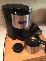 220 volt Delonghi Insulated Coffee Maker in Ramstein, Germany