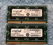 """CRUCIAL"" brand 2 X 8 GB (16GB total) DDR3L-1600 SODMM MAC Memory in Fort Campbell, Kentucky"