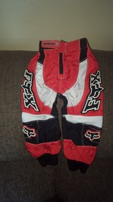 fox racing 180 riding pants toddler 2/3 in Aurora, Illinois