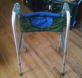 Invacare Dual Release Adult Walker With Pouch in Lawton, Oklahoma