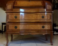 Antique French Rosewood Inlay Secretary Desk in Ramstein, Germany