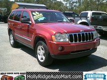 2006 Jeep Grand Cherokee Limited 4WD V8 - 166k miles! in Camp Lejeune, North Carolina