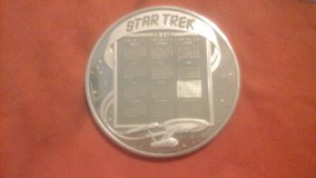 Star trek 25th anniversary franklin mint coins in Camp Pendleton, California