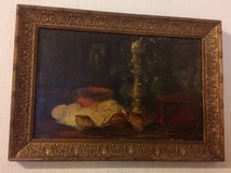 Antique French Art , Original Painting, Oil on Cavas with Artist's signature in Ramstein, Germany