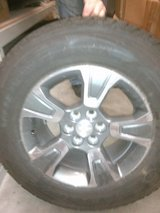 2014 TO 2018 COLORADO TIRE WHEEL COMBO, NEW TAKE OFF,S 255/65/17 HAVE 2 SET,S in Fort Leonard Wood, Missouri