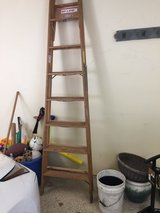 Werner 8 Foot Wood Ladder in Naperville, Illinois