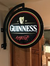 Guinness Bar Light - 2 Sided - With Bracket in Naperville, Illinois