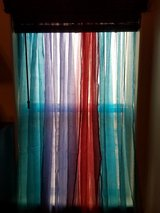 Colorful sheer curtains / bead overlays in Las Cruces, New Mexico
