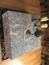 granite coffee table and dining room table in Naperville, Illinois