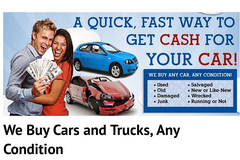 We buy any cars in any condition in Ramstein, Germany
