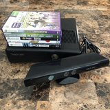 Xbox 360 Kinect and 5 games (NO CONTROLLER) in Travis AFB, California