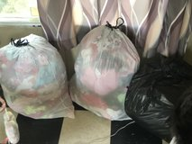 3 bags full baby girl clothes newborn to 3 months in Hinesville, Georgia