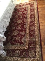 """Momeni Persian Heritage Area Rug (8 x 9'6"""") with Rug Pad in Plainfield, Illinois"""