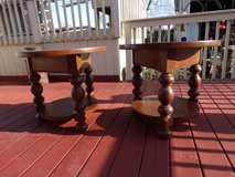 2 - Used End Tables just refinished. Price Reduced! in Naperville, Illinois