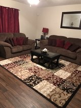 sofa and love seat couch living room set in Lackland AFB, Texas
