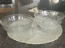 Large Sandwich Glass Bowls in Naperville, Illinois