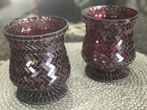 Mosaic Candle Pair in Naperville, Illinois