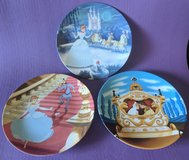 Cinderella collectors plates.  Set of three from 1992. Licensed Disney in Vacaville, California
