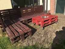 Pallet Patio in Ramstein, Germany