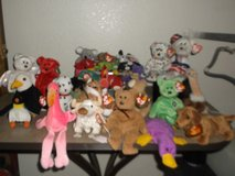 A VARIETY OF BEANIE BABIES in Yucca Valley, California