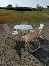 Patio table and chairs in Quantico, Virginia