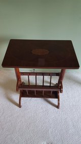 End Table with Magazine Storage in Naperville, Illinois