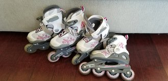 Bladerunner for girls adjustable rollerblades inline skates in Glendale Heights, Illinois