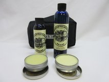 New Mountaineer Brand Complete Beard Care Kit. Wash, oil, balm. in Joliet, Illinois