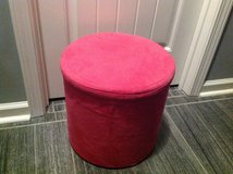 New! Hot Pink Microfiber Storage Ottoman in Fort Campbell, Kentucky