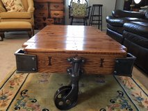 Lineberry Factory/Railroad Cart coffee table in Camp Lejeune, North Carolina