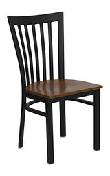 Chairs (2pack) / Model# XUDG6Q2BVRTMAHW / Banquet Chairs/Mahogany Wood Seats in Chicago, Illinois