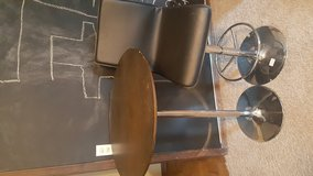 bar height table and 4 chairs in Lawton, Oklahoma